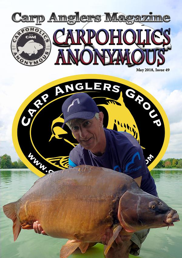 Carp Angler Magazine CAM, Carpoholic Anonymous Issue 49, May 2018