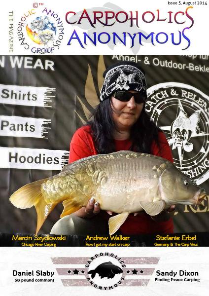 Carp Angler Magazine CAM, Carpoholic Anonymous Issue 5, August 2014