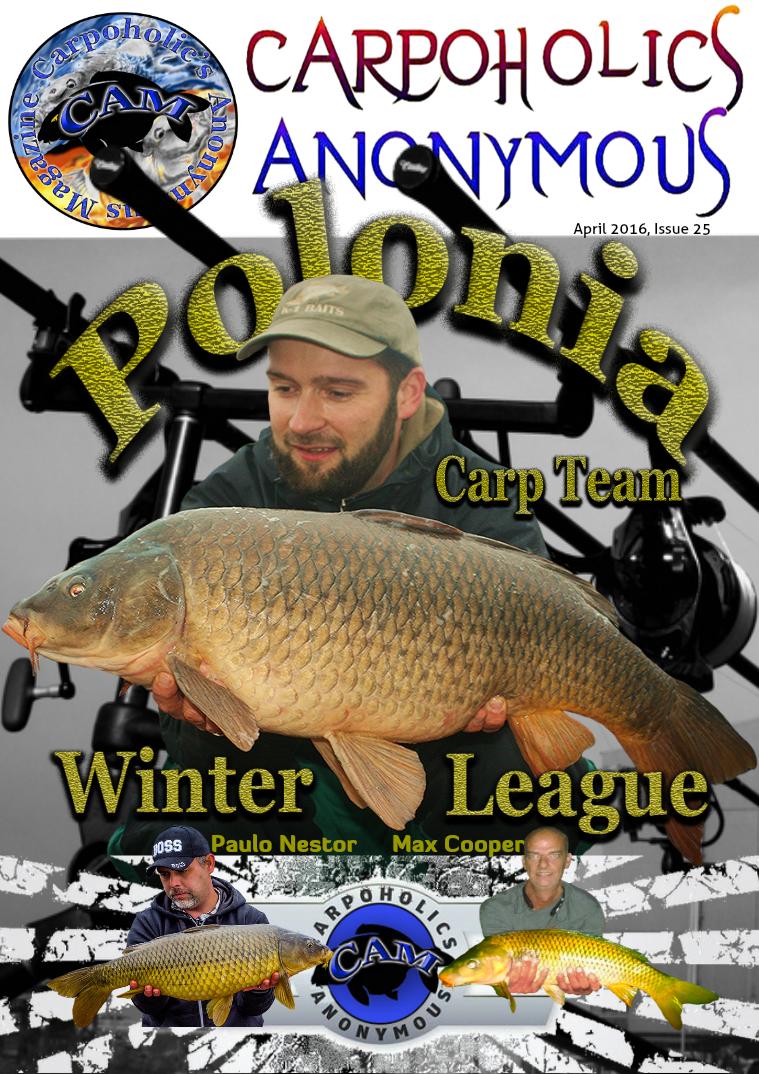 Carp Angler Magazine CAM, Carpoholic Anonymous Issue 25, April 2016
