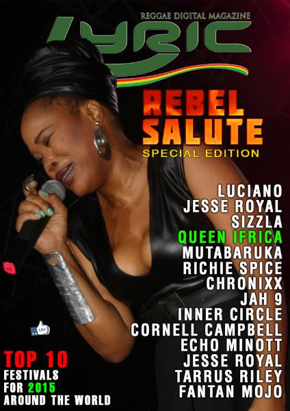 Lyric Digital Reggae Magazine Rebel Salute