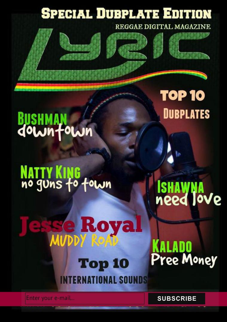 Lyric Digital Reggae Magazine The Jamaican Dubplate Series 2015