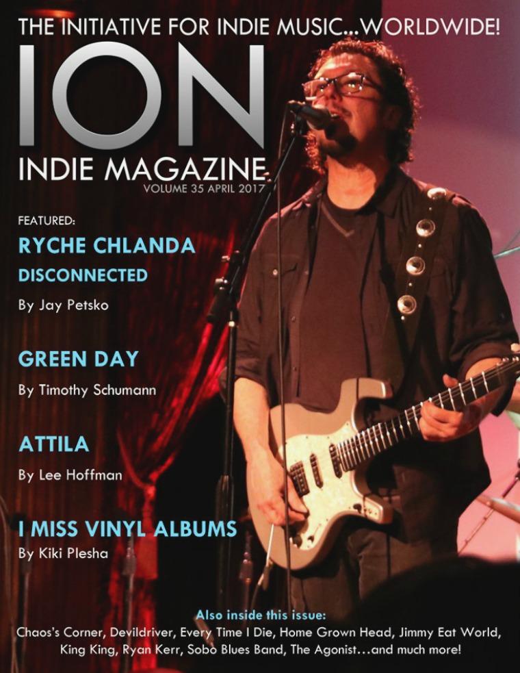 ION INDIE MAGAZINE April 2017, Volume 35