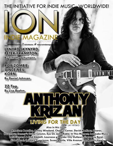 ION INDIE MAGAZINE October 2016, Volume 29