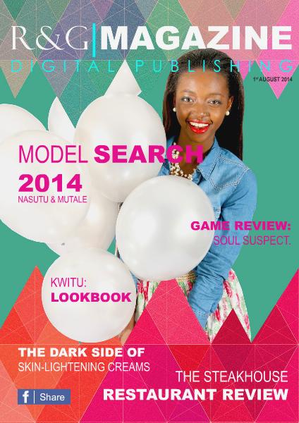 R&G|MAGAZINE EDITION #1 - AUGUST 2014