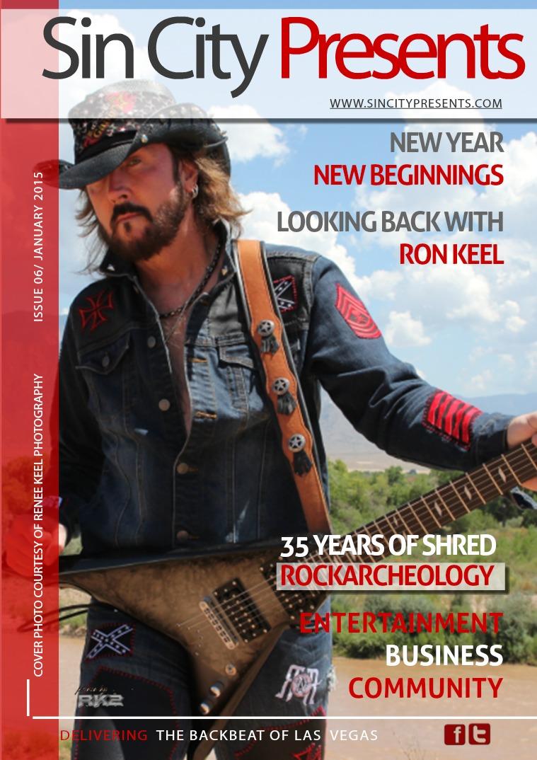 Sin City Presents Magazine January 2015 Volume 2 Issue 1