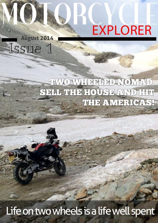 Motorcycle Explorer Aug. 2014