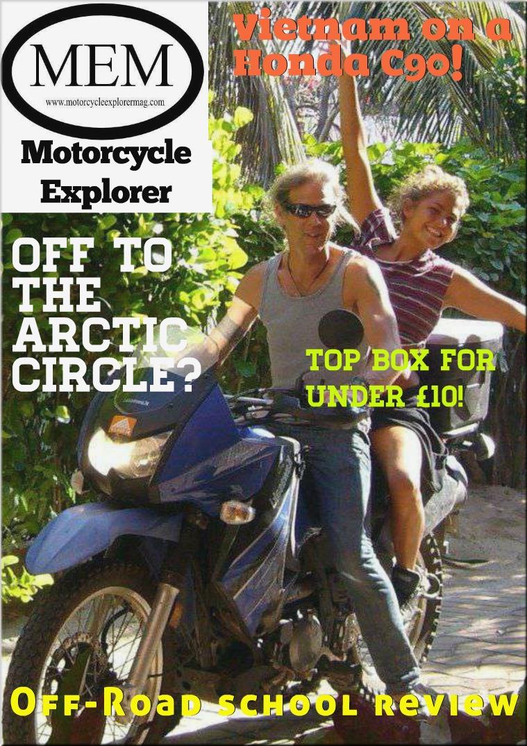 Motorcycle Explorer Oct 2014