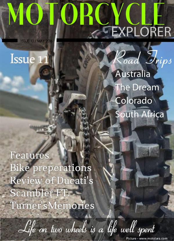 Motorcycle Explorer May 2016 Issue 11