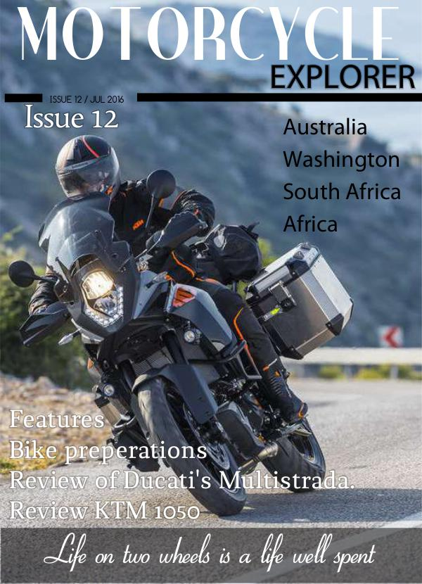 Motorcycle Explorer July 2016 Issue 12