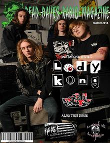 DEADAVESRADIO MAGAZINE MARCH 2014 EDITION RE-ISSUE