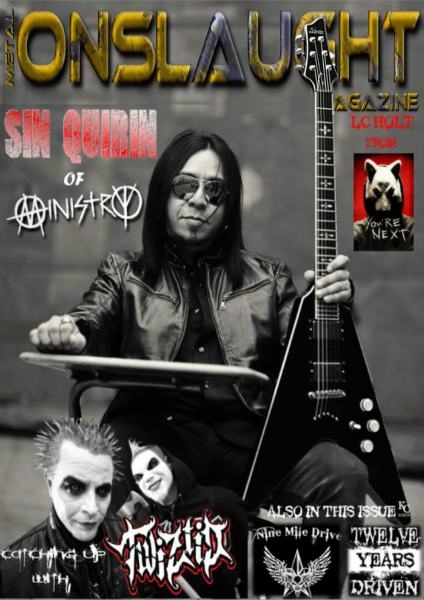 METAL ONSLAUGHT MAGAZINE OCTOBER EDITION OCT Edition