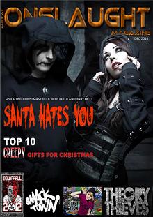 METAL ONSLAUGHT MAGAZINE - DECEMBER 2014