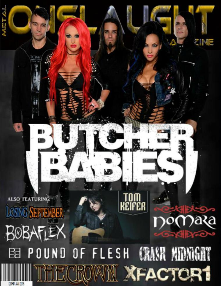 Metal Onslaught Magazine January 2015 Jan 2015