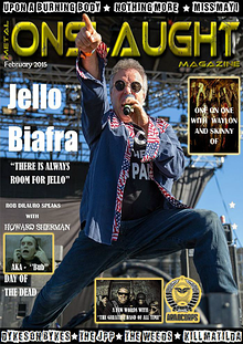 Metal Onslaught Magazine February 2015