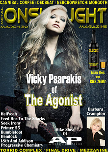 METAL ONSLAUGHT MAGAZINE MARCH 2015