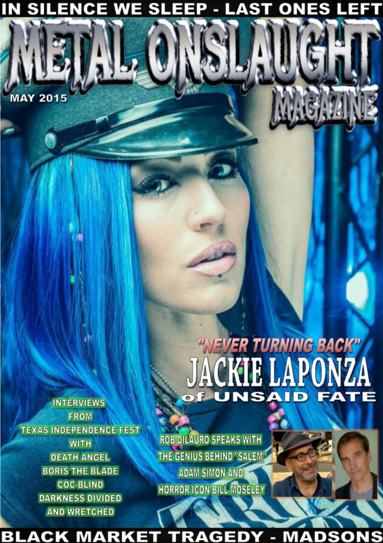 Metal Onslaught Magazine May 2015 May 2015