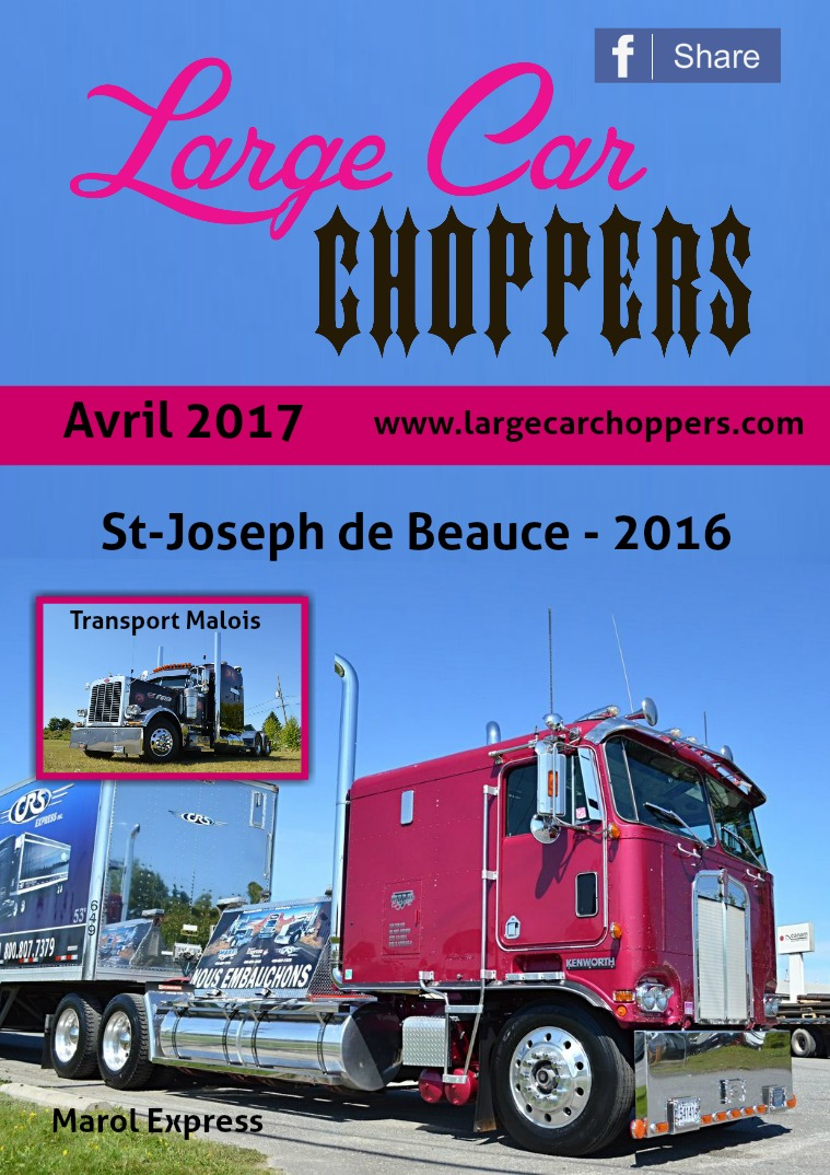Large Car Choppers Large-Car Choppers - Avril 2017