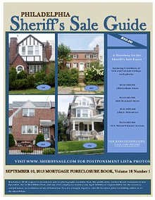 Sept 2013 Mortgage Foreclosure Guide $5 Special