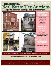 November 20, 2013 Tax Delinquent Paid Real Estate Auction Guide