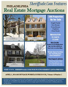 APRIL 1, 2014 MORTGAGE FORECLOSURE BOOK, Vol 4 Num 1