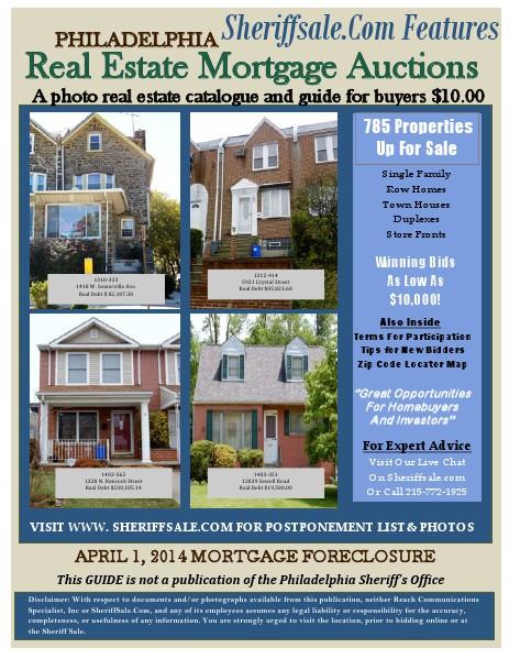 POSTPPOSTPONEMENT LIST& PHOTOS APRIL 1, 2014 MORTGAGE FORECLOSURE PaidPOSTPONEMENT LIST& PHOTOS APRIL 1, 2014 MO