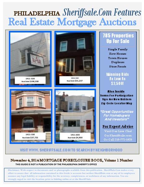 November 4, 2014 Mortgage Auction November 4 Mortgage NM
