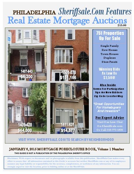 January 6, 2015 Mortgage Foreclosure Guide January 6, 2015 Mortgage Foreclosure Guide