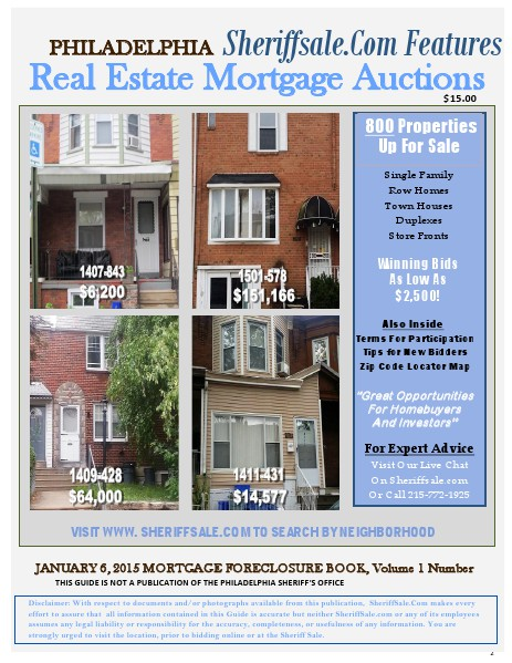 January 6, 2015 Mortgage Updated January 6, 2015 Mortgage Foreclosure Updated