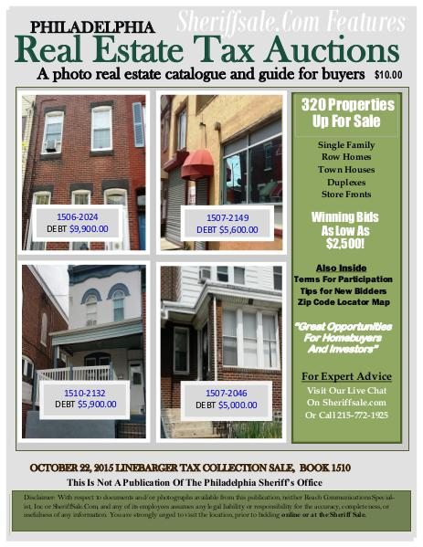 October 22, 2015 Linebarger Tax Guide October 22, 2015 Linbarger