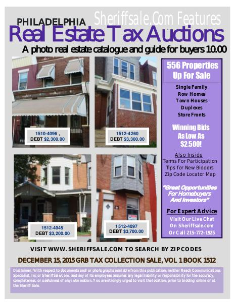 December 15, 2015 GRB Tax Auction clone_December 15, 2015 GRB Guide Non-Member