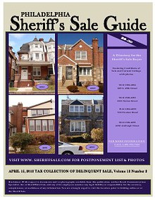 APRIL 15, 2013 TAX COLLECTION OF DELINQUENT SALE