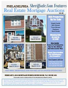 Monthly Guide to Buying Foreclosures In America's Fifth Largest City