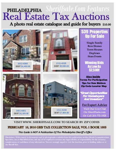 Buy Philadelphia Foreclosures The Easy Way Buy Foreclosures In America's fifth largest City