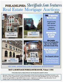 Guide To Buying Foreclosures In Philadelphia May Edition