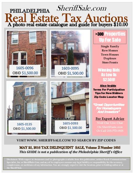 Guide To Buying Philadelphia Tax Properties May Guide To Buying Tax Del Properties In Phila