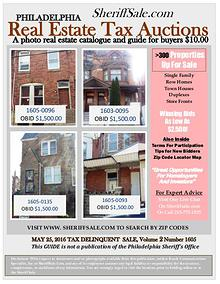 Guide To Buying Philadelphia Tax Properties