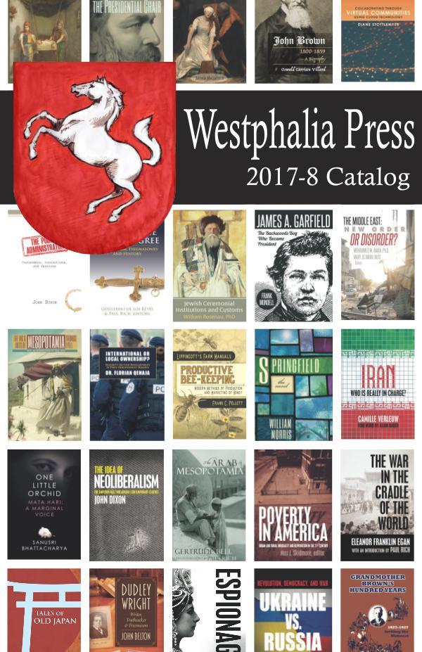 2017-8 Westphalia Press Catalog Newest catalog