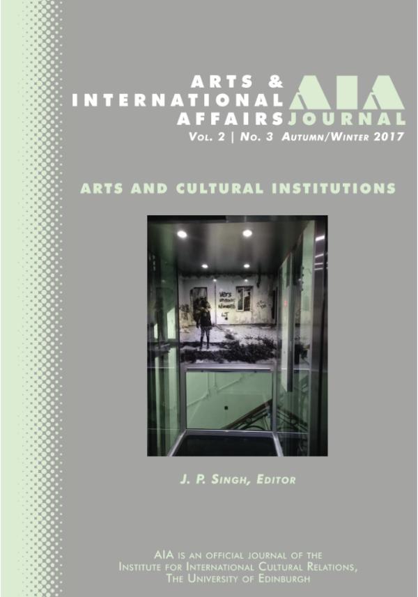 Arts & International Affairs: 2.3: Autumn/Winter 2017