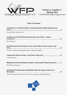 World Food Policy