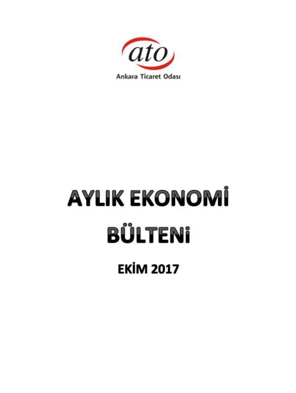 ATO AYLIK EKONOMİ BÜLTENİ (EKİM 2017) 10_Ekim Ekonomi Bülteni