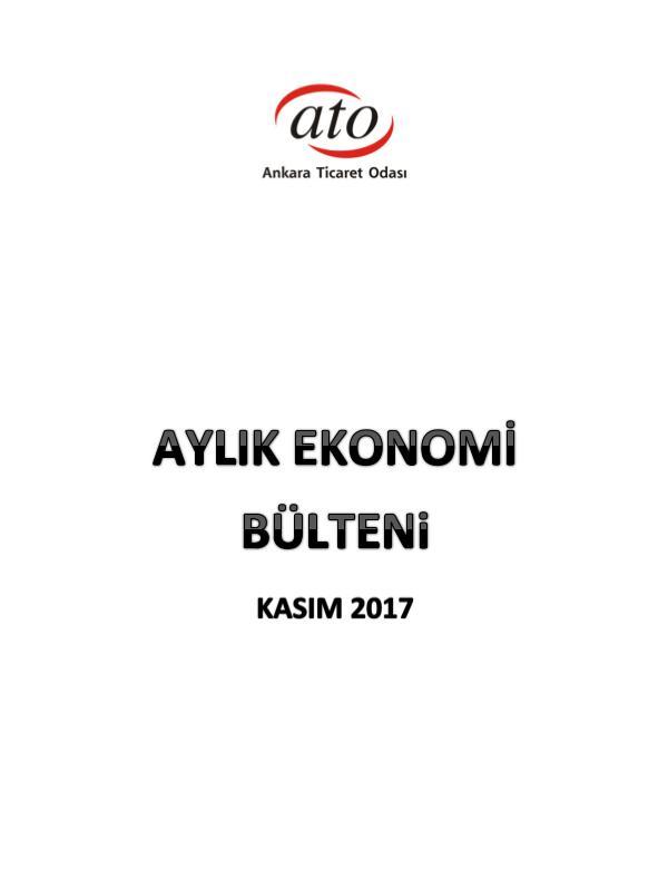 ATO Ekonomi Bülteni_Kasım 2017 11_Ekonomik Rapor_Kasım_web