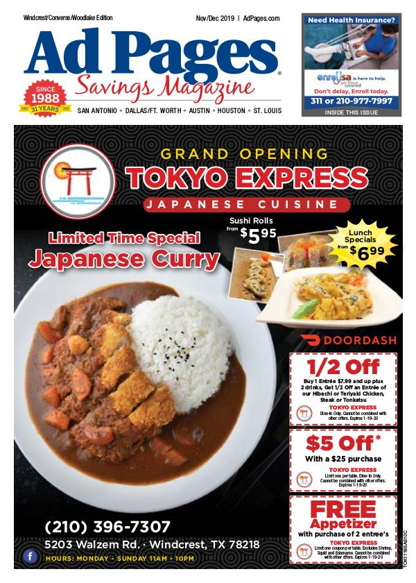 Windcrest/Converse/Woodlake, TX Ad Pages Coupon Magazine