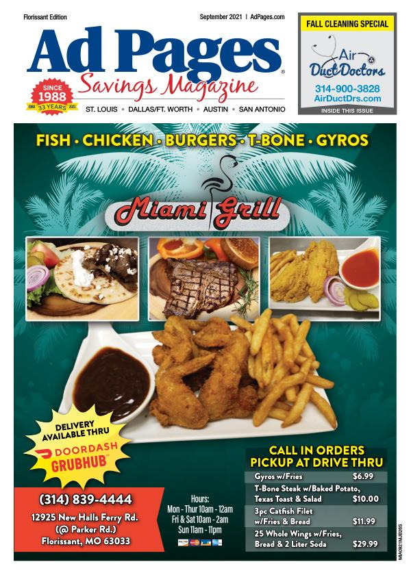 Florissant, MO Ad Pages Savings Magazine