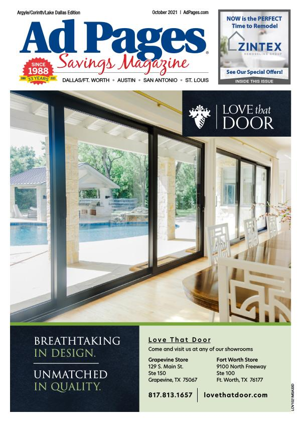 Argyle/Corinth/Lake Dallas, TX Ad Pages Savings Magazine