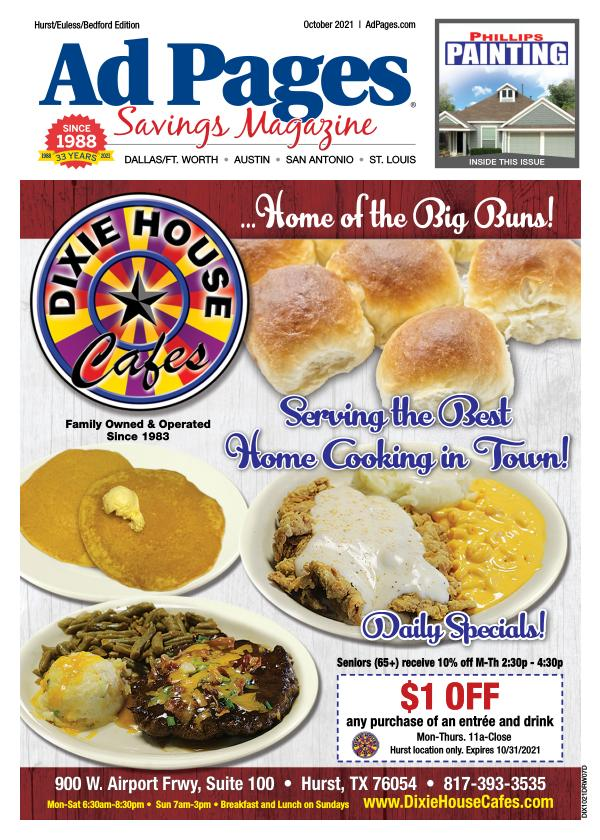 Hurst TX Ad Pages Coupon Magazine