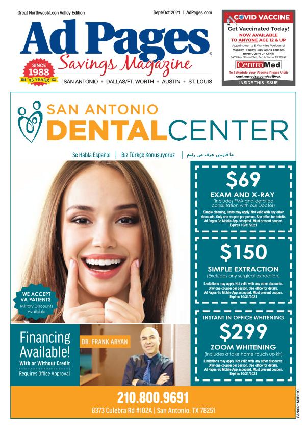 Great Northwest/Leon Valley, TX Ad Pages Coupon Magazine