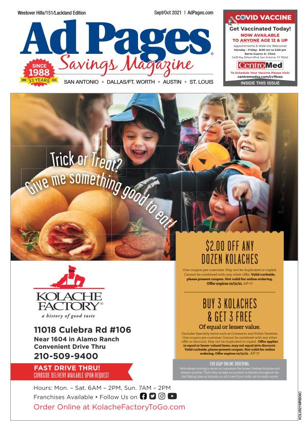 Westover Hills, TX Ad Pages Coupon Magazine