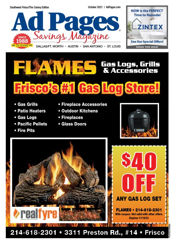 The Colony, TX Ad Pages Coupon Magazine