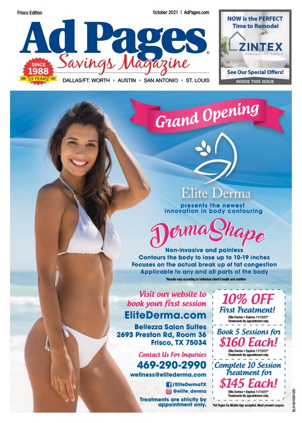 Allen, TX Ad Pages Coupon Magazine
