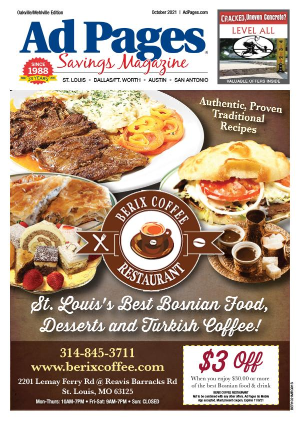 Oakville/Mehlville, MO Ad Pages Savings Magazine